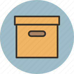 archive, box, library, product, storage icon
