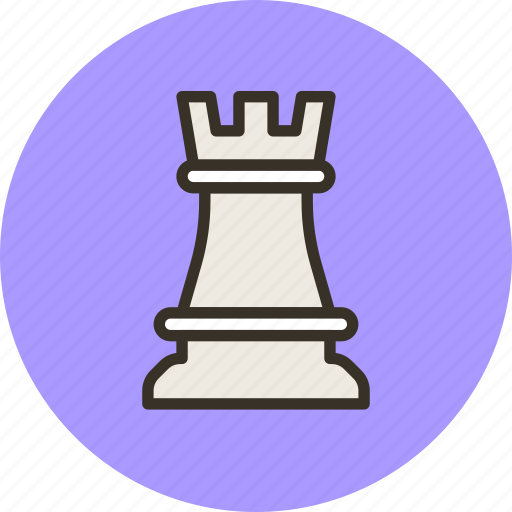 chess, figure, games, rock, strategy icon