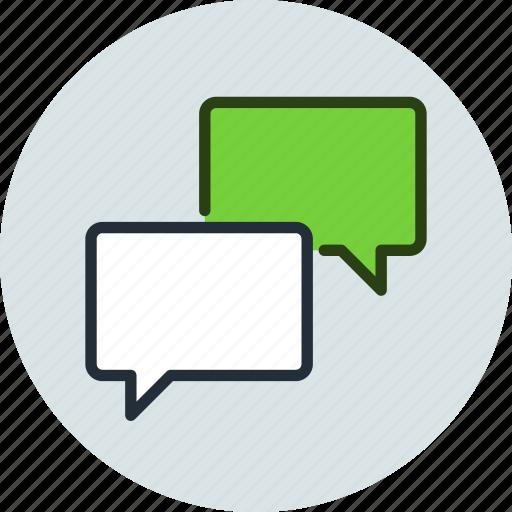 bubble, chat, comment, conversation, message, talk icon