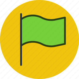 country, flag, language, mark, point icon