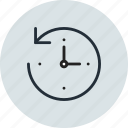 backup, machine, restore, time icon
