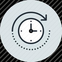 backup, forward, machine, restore, time icon