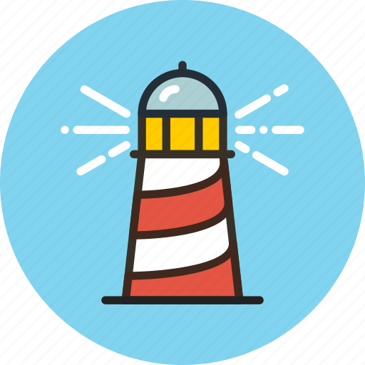 guidance, guide, lighthouse, marine, nautical, navigation icon