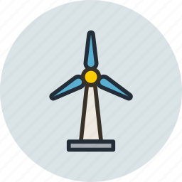 ecology, energy, generator, wind icon