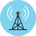 antenna, communication, radio, signal, station, tower icon