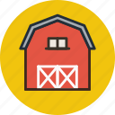 agriculture, barn, building, farm, storage, storehouse, village icon