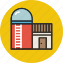 agriculture, barn, building, farm, silo, storage, storehouse icon
