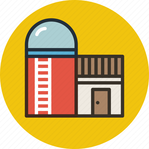 agriculture, barn, building, farm, silo, storage, storehouse icon
