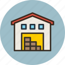 building, warehouse, depot, storage, storehouse