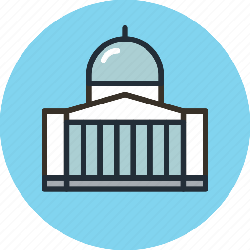 administration, building, government, official icon