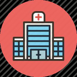 building, clinic, hospital, house icon