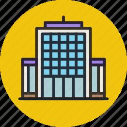 building, commercial, company, office, skyscraper icon