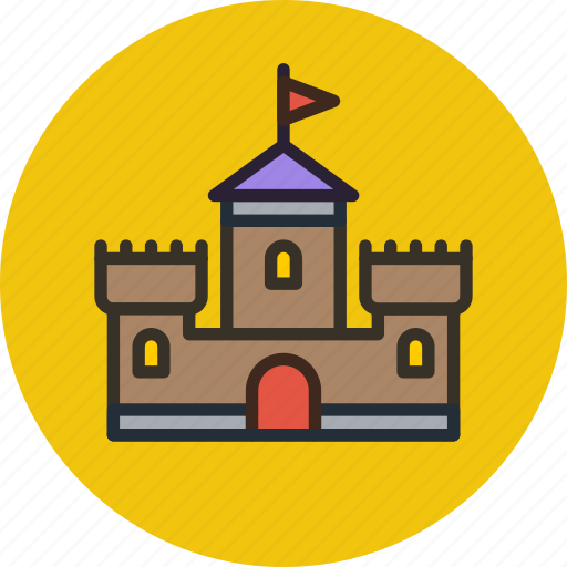 bastion, building, castle, tower icon