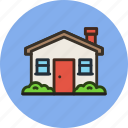 2, apartment, building, home, house icon