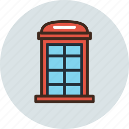 booth, box, call, phone, telephone icon