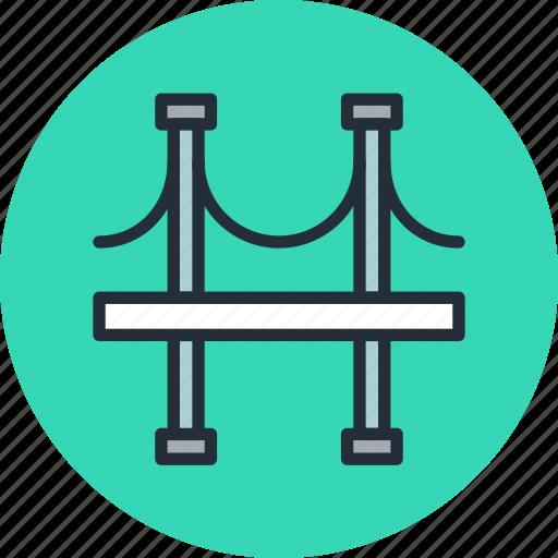 arc, bridge, column, highway icon