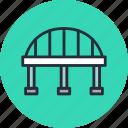 arc, bridge, column, highway