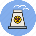 atomic, energy, industrial, industry, nuclear, plant, power icon