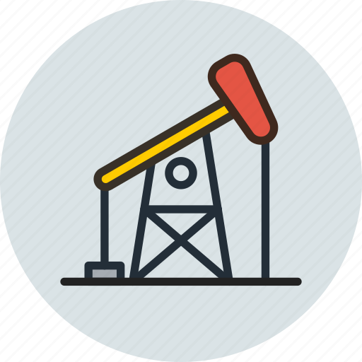 Drill, drilling, gas, oil, petroleum, refinery icon - Download on Iconfinder