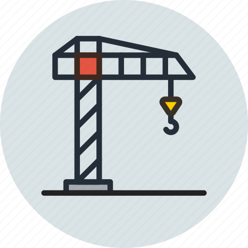 Building, construction, crane, hook, industrial, industry icon - Download on Iconfinder