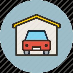 auto, car, garage, service, wash icon
