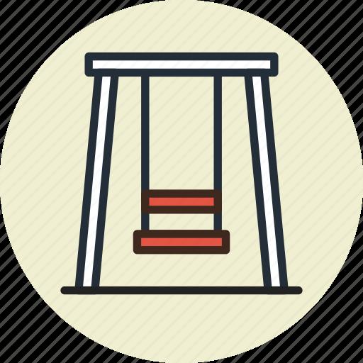 Kids, park, swing, teeter icon - Download on Iconfinder