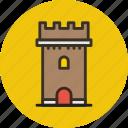 bastion, building, castle, tower