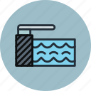 pool, springboard, swiming, water icon