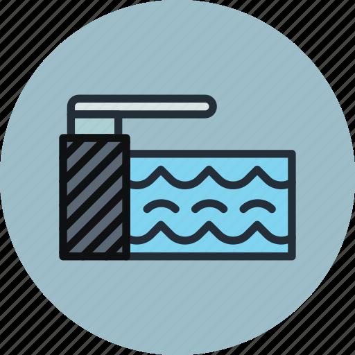 pool, springboard, swiming, water icon
