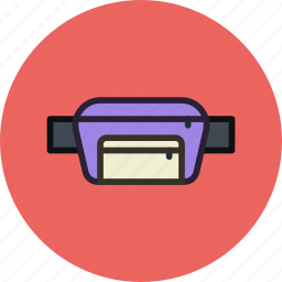 bag, belt, cash, change, money, secret icon