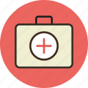 aid, briefcase, first, health, medicine, suitcase
