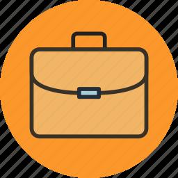 briefcase, business, office, portfolio, services, suitcase icon