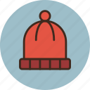 clothes, clothing, hat, knitted, wear, winter icon