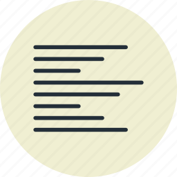 align, left, paragraph, text icon