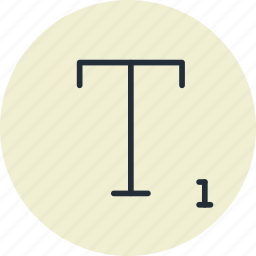 font, subscript, text, tool icon