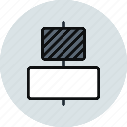 align, center, horizontal, middle, objects, tool icon