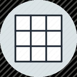 grid, mesh, tool, warp icon