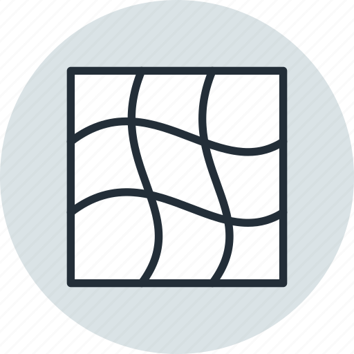 distort, gradient, grid, mesh, tool, warp icon