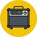 amp, amplifier, audio, guitar, music, sound, speaker icon
