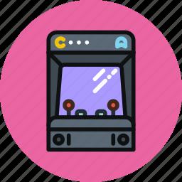arcade, console, games, joystick, machine, retro icon