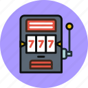 casino, gambling, games, machine, slot icon