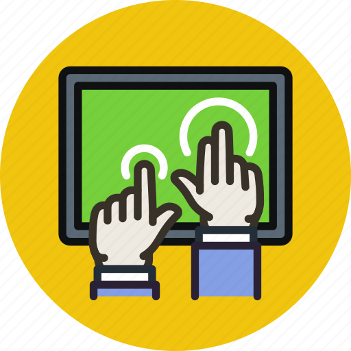 device, hands, multitouch, tablet, touch icon