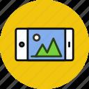 call, device, horizontal, iphone, landscape, phone, smartphone icon
