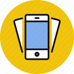 device, iphone, mobile, phone, smartphone, tilt icon