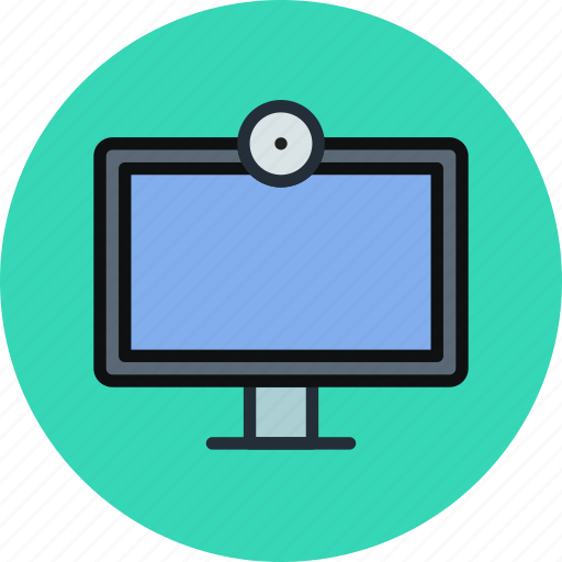 broadcast, camera, channel, device, television, tv, webcam icon