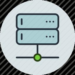 backup, base, data, database, network, rack, server icon