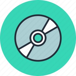 bluray, cd, compact, digital, disc, dvd, media icon