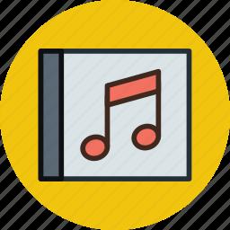 album, media, music, song icon