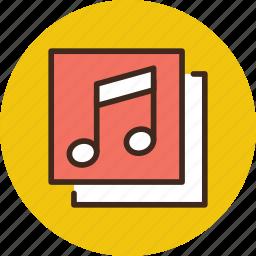 album, media, music, song, songs icon