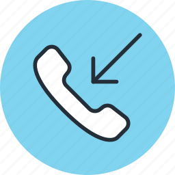 call, incoming, mobile, phone icon